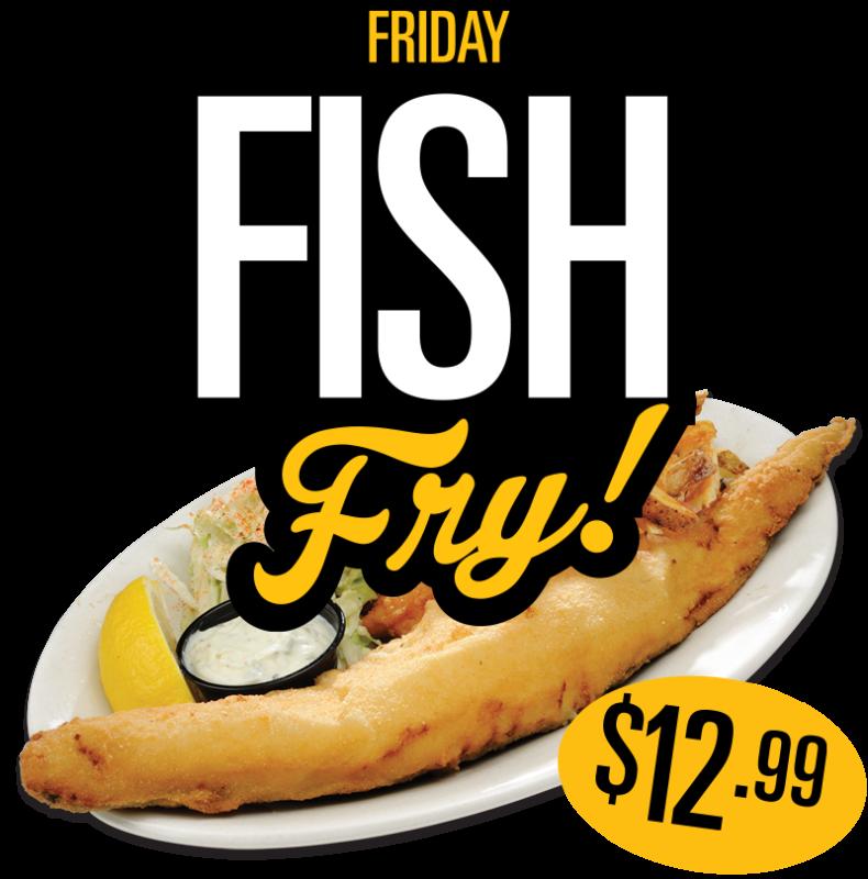 Friday Fish Fry 12.99